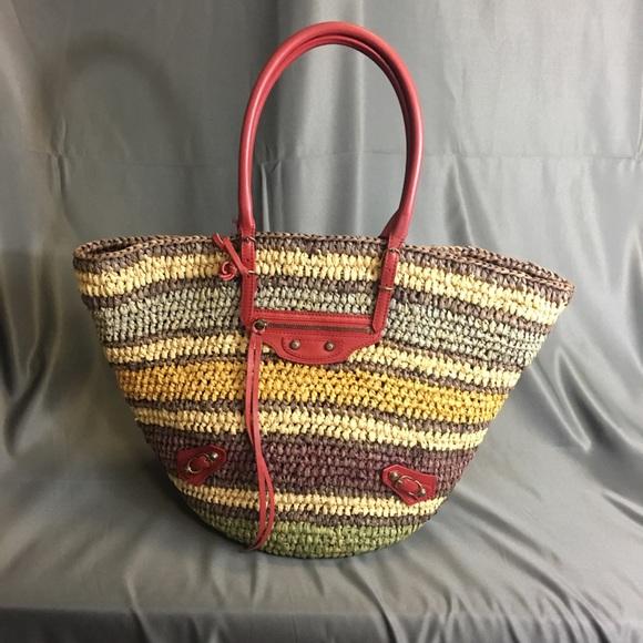 Balenciaga Handbags - *SUPERB* Balenciaga Panier Basket Tote